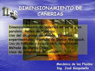 DIMENSIONAMIENTO DE CA