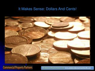 It Makes Sense: Dollars and Cents!