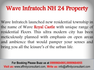 wave infratech NH 24