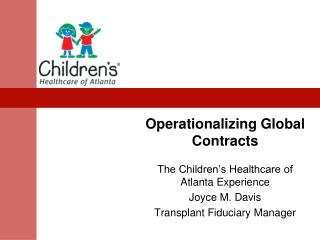 Operationalizing Global Contracts