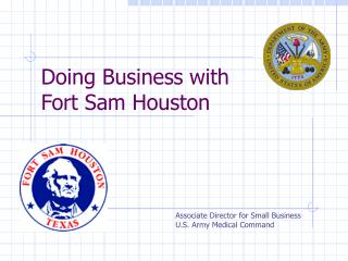 Doing Business with  Fort Sam Houston