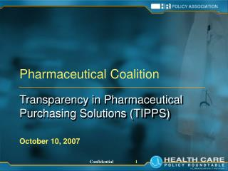 Pharmaceutical Coalition