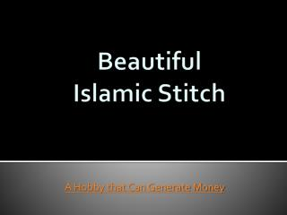 Islamic Stitch