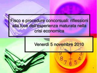 Fisco e procedure concorsuali: riflessioni alla luce dell ...