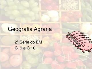 Geografia Agr ria
