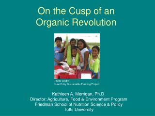 On the Cusp of an Organic Revolution