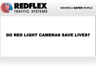 Do Red Light Cameras Save Lives?