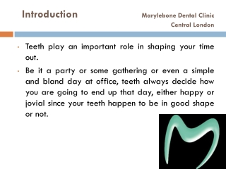 Dental Care Marylebone