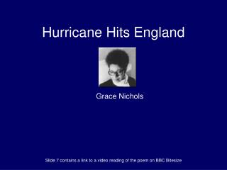 Hurricane Hits England