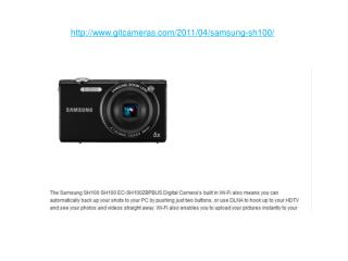 digital camera review: samsung sh100