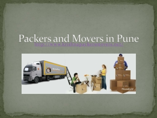 Packers & Movers Services Pune