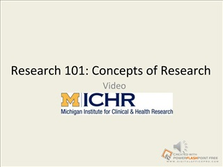 Research 101 VIDEO