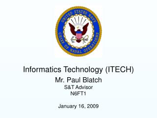Informatics Technology ITECH
