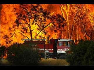 wildfire devastates australia
