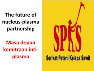The future of nucleus-plasma partnership    Masa depan kemitraan inti-plasma