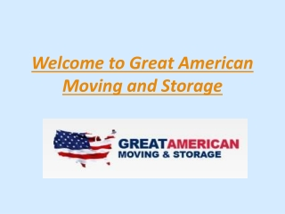 Great American Moving and Storage