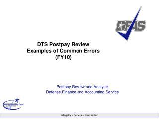 DFAS Professional Presentation Master