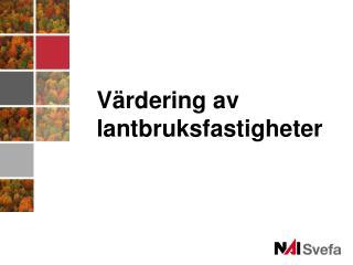 Jordbruket i Sverige