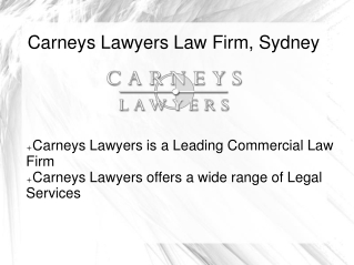Best Lawyers in Sydney Australia