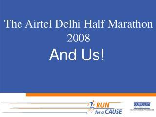 The Airtel Delhi Half Marathon