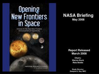 NASA Briefing May 2008