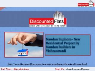 Nandan Builders offers 2BHK Apartments in NIBM Road - Nandan