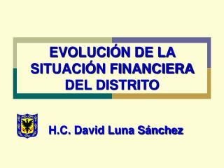 Finanzas Distritales