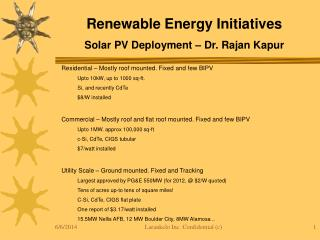 Benefits of AC PV Modules