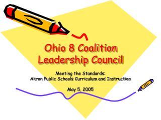 Ohio 8 Coalition Leadership Council