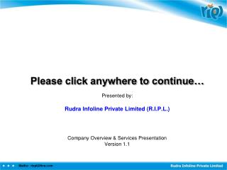 Please click anywhere to continue..