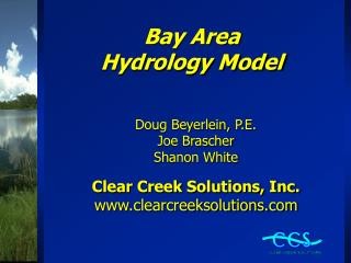 Bay Area Hydrology Model