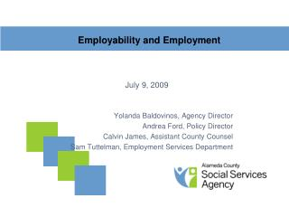Employability and Employment