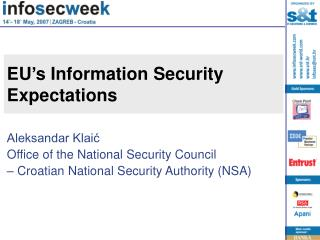 EU s Information Security Expectations