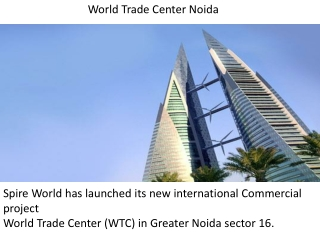 World Trade Center Noida