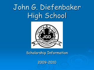 John G. Diefenbaker High School