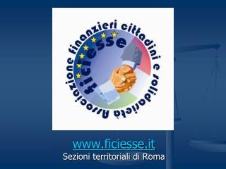 Ficiesse.it Sezioni territoriali di Roma