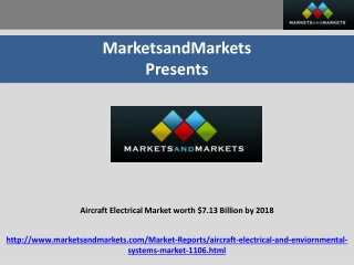 Aircraft Electrical Market