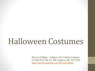 Halloween Costumes Calgary Alberta Canada