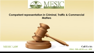Jacksonville Criminal Defense Lawyer - Kate mesic