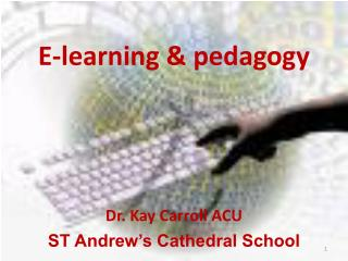 E-learning  pedagogy