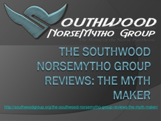 The Southwood Norsemytho Group Reviews: The Myth Maker