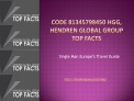 Code 81345798450 HGG, Hendren Global Group Top Facts