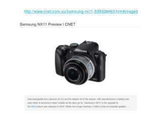 samsung nx11 preview