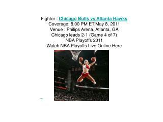 watch nba game 4 chicago bulls vs atlanta hawks live streami