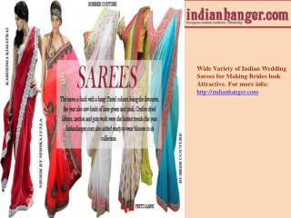 Indian Sarees - Luxury Web Portal For Indian Wedding Sarees