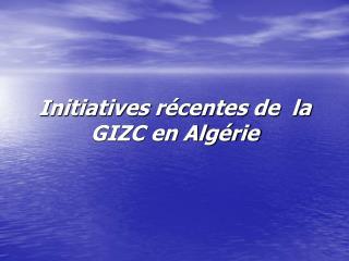 Initiatives r
