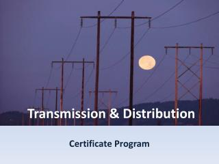 Transmission  Distribution
