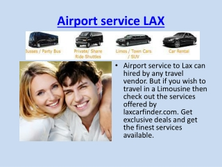 Airport Service Lax