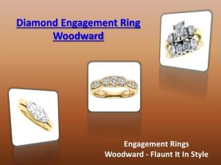 Diamond Engagement Ring Woodward
