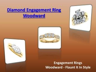 Diamond Engagement Ring Woodward